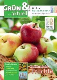 Kundenzeitschrift Nr. 4/2013 - Weber GartenCenter