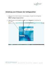 Anleitung zur Online-Selbstdeklaration - WEMF AG für ...