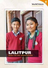 Projektabschluss Lalitpur - World Vision Schweiz