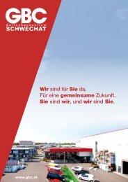 Wir sind für Sie da. Für eine gemeinsame Zukunft ... - GBC Österreich
