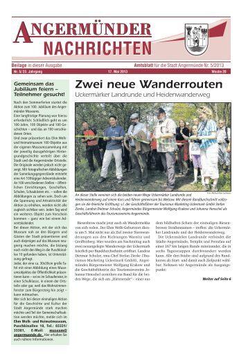 Nr. 05/2013 - Angermünde