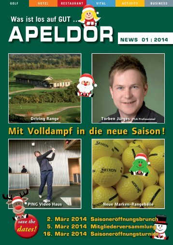 Apeldör NEWS 01 | 2014 - Golf Club Gut Apeldoer