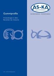 Gummiprofile - AS KA Qualitätsprodukte