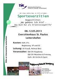Sportexerzitien - blsv