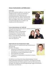 Unsere Seminarleiter und Referenten2 - Bioaugustin.de