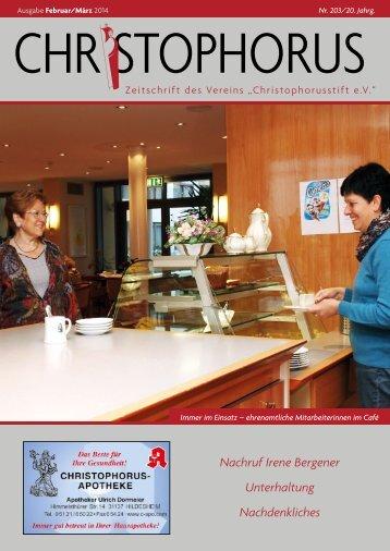 Download Hauszeitung - und Pflegeheim Christophorusstift ...