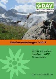 Sektmitt-2-2013 - Deutscher Alpenverein | Sektion Neustadt