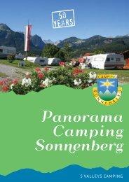 Download brochure (PDF) - Camping Sonnenberg in Vorarlberg