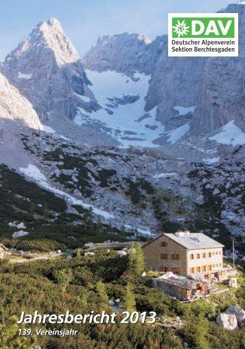 2013 - Deutsche Alpenvereinssektion Berchtesgaden