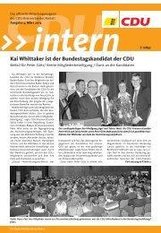 CDU Intern 2013/03 herunterladen - CDU Kreisverband Rastatt