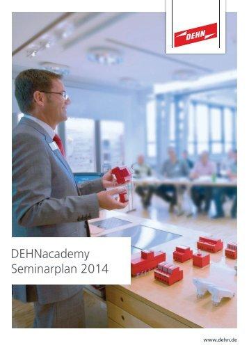DEHNacademy Seminarplan 2014