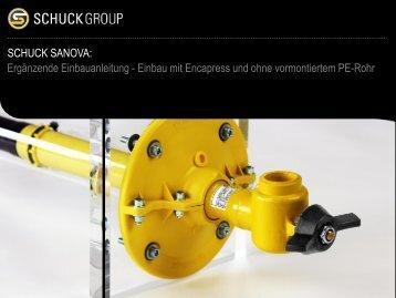 Einbau Sanierungskapsel Sanova - HEIN-RST GmbH