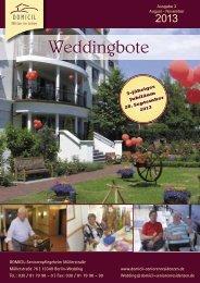 Weddingbote - DOMICIL Seniorenresidenzen