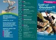 Flyer Emmaus Kurs 2013 - Evangelische Kirchengemeinde ...