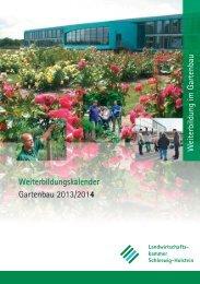 Weiterbildungskalender - Landwirtschaftskammer Schleswig-Holstein