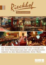 Angebote der Rieckhof Gastronomie