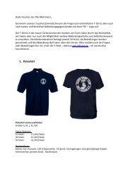 1. Poloshirt - TSC Mettmann eV