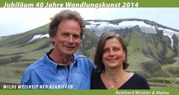 Jubiläum 40 Jahre Wandlungskunst 2014 - Reinhard Winkler