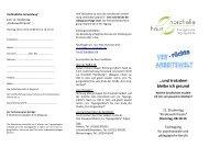 Info Flyer (PDF) - Haus Nordhelle