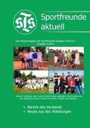 STS aktuell 2/2013 - Sportfreunde Stuttgart 1874 eV