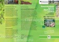 Bio-Gärtnerei Watzkendorf GmbH - Bioland