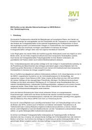 BVI-Position zu den aktuellen Ratsverhandlungen zur MiFID-Reform ...