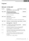Vorprogramm - Deutsche Gesellschaft für Ernährung, DGE - Page 7