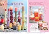 Flackerndes Kerzenlicht verbreitet Weihnachts- romantik pur ... - Efco