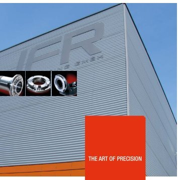 THE ART OF PRECISION - IFR Engineering GmbH