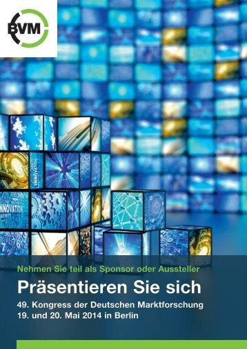 weitere Informationen - Berufsverband Deutscher Markt