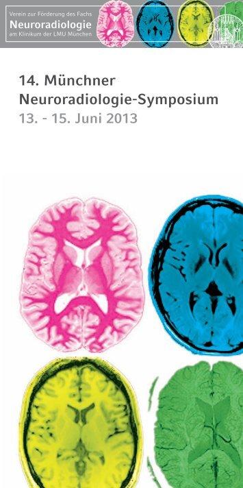 14. Münchner Neuroradiologie-Symposium - cocs | congress ...