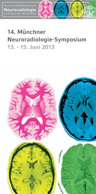 14. Münchner Neuroradiologie-Symposium - cocs   congress ...