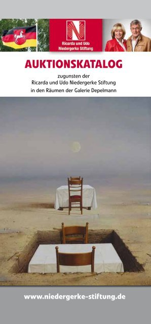 Auktionskatalog als PDF-Datei. - Galerie Depelmann