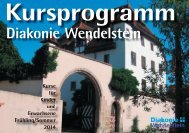 Download Kursprogramm (5MB) - Diakonie Wendelstein