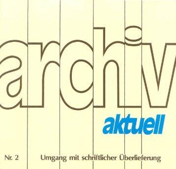 Heft 2 archiv aktuell - Evangelische Kirche in Deutschland