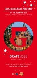Grafenegger Advent Folder