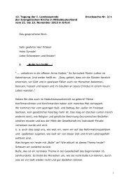 Bericht - Evangelische Kirche in Mitteldeutschland