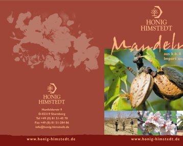 Mandelmappe - Himstedt Honig
