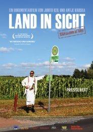 Presseheft Land in Sicht - INDI Film