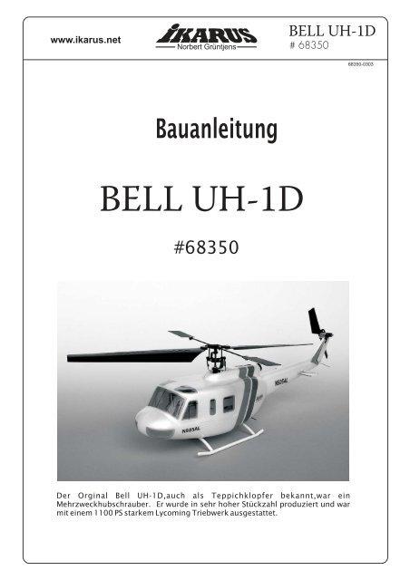 Bauanleitung Bell UH-1D - Ikarus