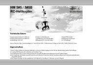 HM 5#5 / 5#5B RC-Helikopter - Ikarus