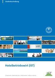Studienbeschreibung Hotelbetriebswirt - IST-Studieninstitut