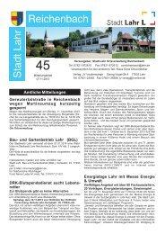 Mitteilungsblatt Reichenbach 45/2013 (application/pdf) - Stadt Lahr