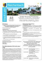 Mitteilungsblatt Reichenbach 48/2013 (application/pdf) - Lahr.de