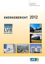 Energiebericht 2012 (PDF, 2,51 MB) - Landschaftsverband Rheinland