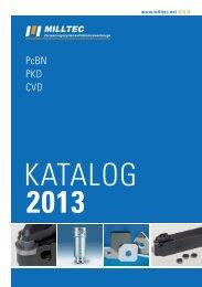 PcBN PKD CVD - Milltec GmbH