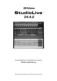 Bedienungsanleitung 16-Kanal Digital Recording ... - Musikhaus Korn