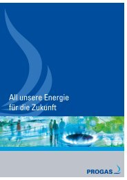 Broschüre downloaden - PROGAS GmbH & Co KG