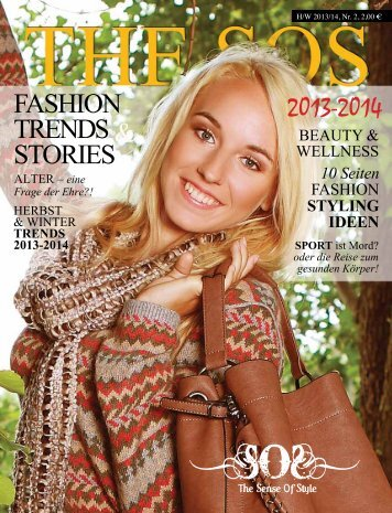 FASHION TRENDS & STORIES - The Sense Of Style