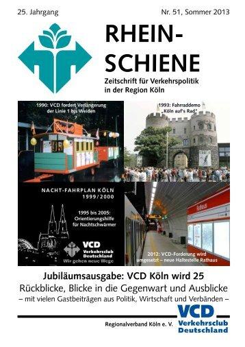 RHEIN- SCHIENE - VCD
